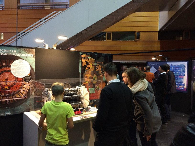 L'exposition Science Machine aux Utopiales 2016 © Inserm/Lissalde, Claire