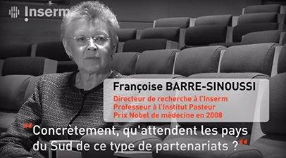JRS Recherche en partenariat avec les pays du sud, interview de Françoise Barré-Sinoussi