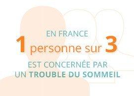 En France, 1 personne sur 3 est concernée par un trouble du sommeil