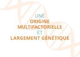 Une origine multifactorielle et largement génétique