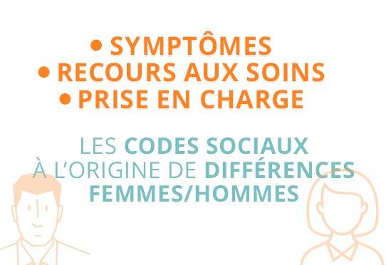 Symptômes, recours au soin, prise en charge : les codes sociaux à l'origine des différences femmes/hommes