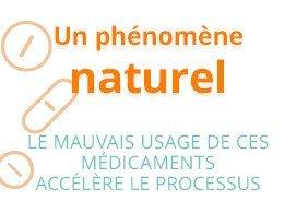 Un phénomène naturel : le mauvais usage de ces médicaments accélère le processus