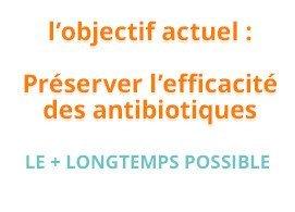 L'objectif actuel : préserver l'efficacité des antibiotiques le plus longtemps possible