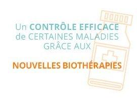 Un contrôle efficace de certaines maladies grâce aux nouvelles biothérapies