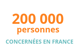 200000 personnes concernées en France