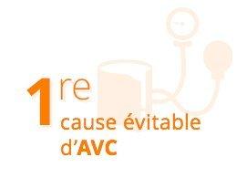 1re cause évitable d'AVC