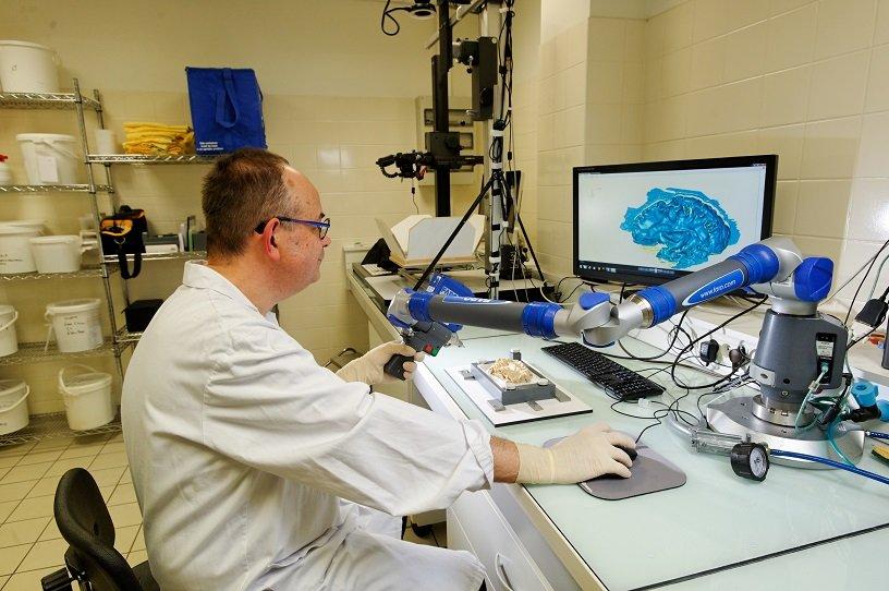 Reportage au laboratoire iBrain, à Tour (unité 1253 Inserm/Université François Rabelais). © Inserm/François Guénet