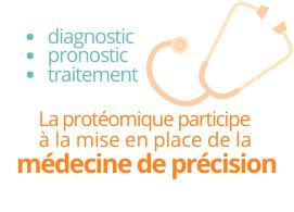 La protéomique participe à la mise en place de la médecine de précision