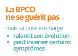 La BPCO ne se guérit pas, sa prise en charge ralenti son évolution et peut inverser certains symptômes