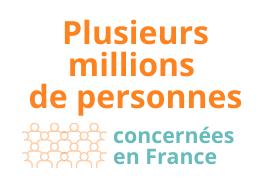 Plusieurs millions de personnes concernées en France