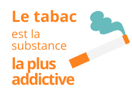 Le tabac est la substance la plus addictive
