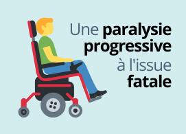 Une paralysie progressive à l'issue fatale