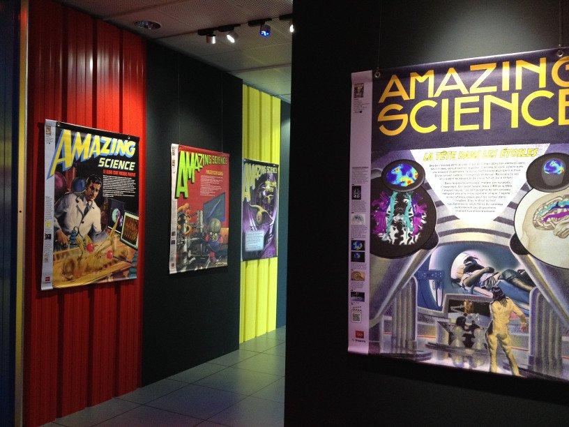 L'exposition Amazing Science au Kiosque de Vannes © Inserm/Lissalde, Claire