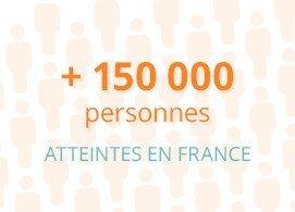 Plus de 150000 personnes atteintes en France